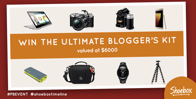Shoebox Ultimate Blogger's Kit Competition
