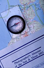 Compass and Map, Photography Copyright Not for Use Without Permission by Brent VanFossen