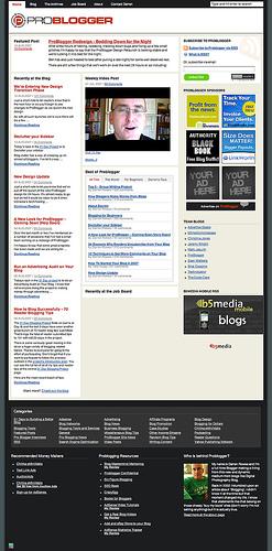 Problogger-Redesign