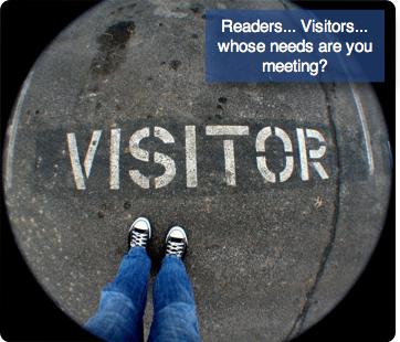 Readers-Visitors