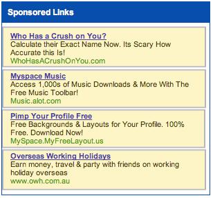Myspace-Adsense