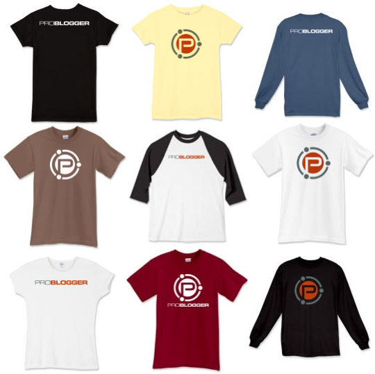 Problogger T Shirts Get Yours Today