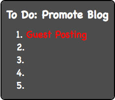 Blog-Promotion - Guest Posting
