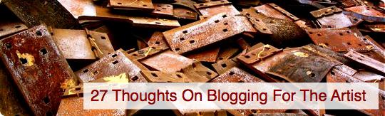 Blogging-For-The-Artist