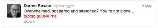 Sharable tweets