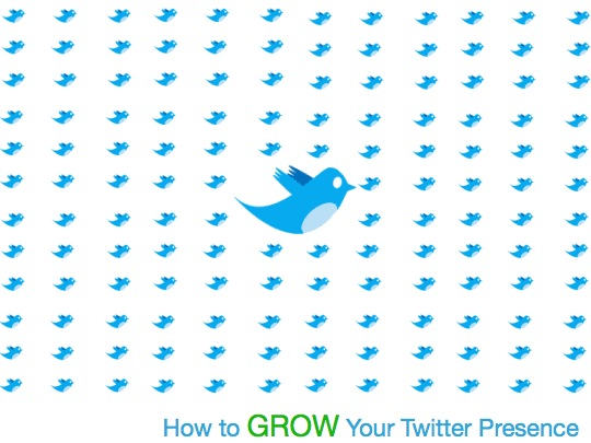 how to grow your twitter presence graph chart table ideas marketing advertising