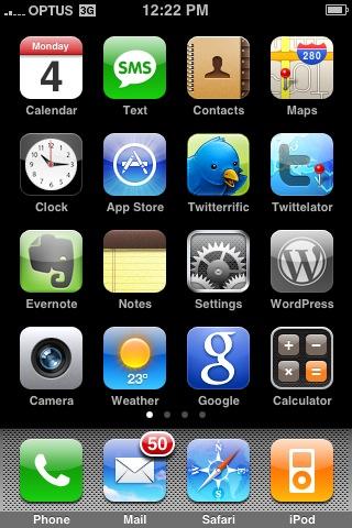 Iphone-Blogging-Tool