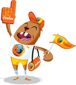 المتصفح النـارى المفضـل الجميـع Mozilla
