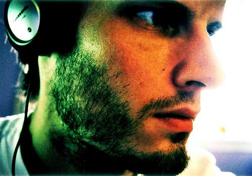 Self portrait in room listening to Orbital_remix_MMIX