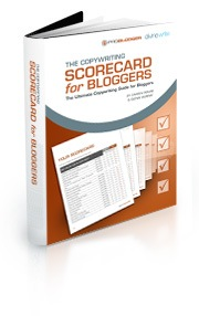 Copywriting Scorecard for bloggers