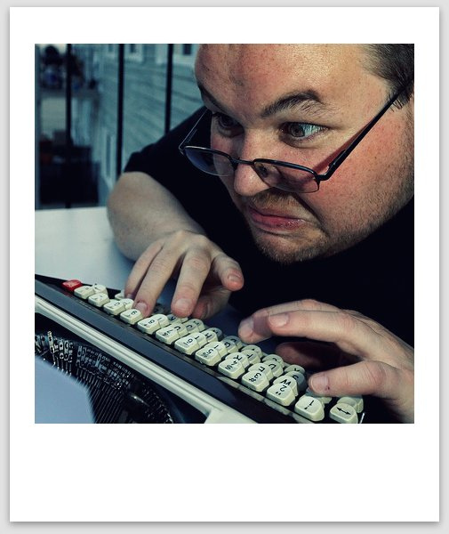 Angry typing