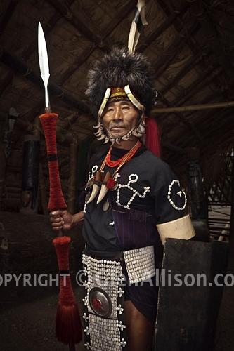 Naga warrior