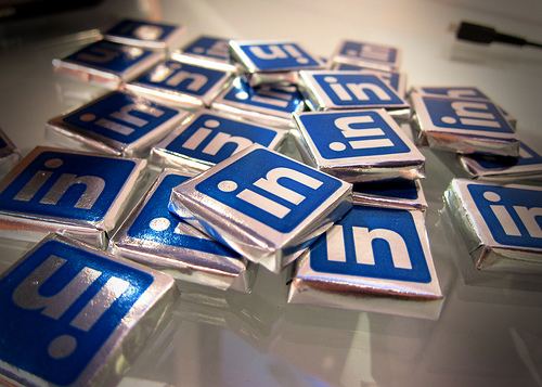 LinkedIn chocolates