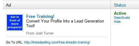 LinkedIn advertising