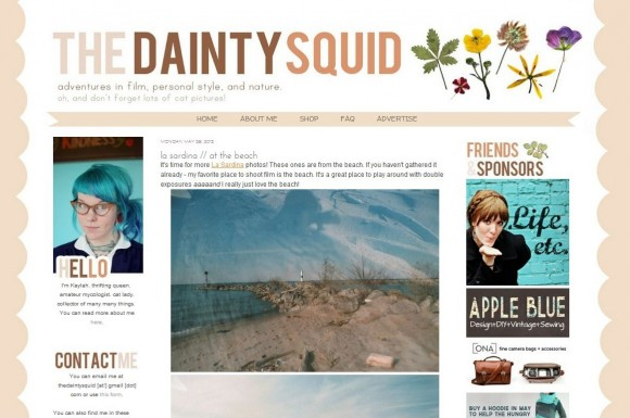 The Dainty Squid blog