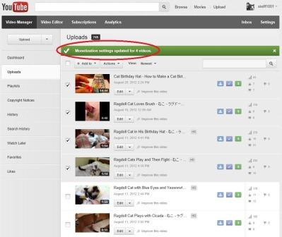 Monetize Confirmation