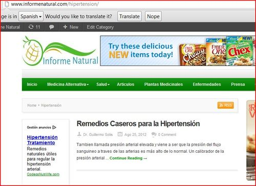 Hypertension Category Page