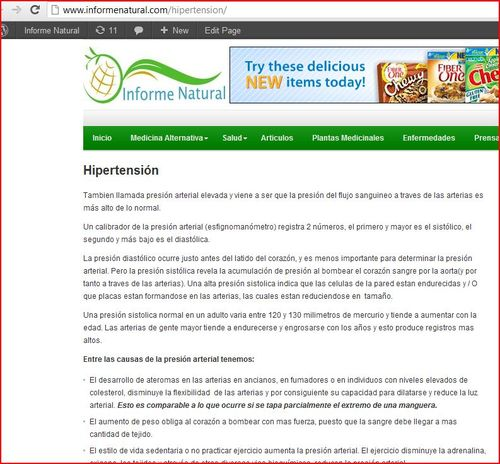 Hypertension Page