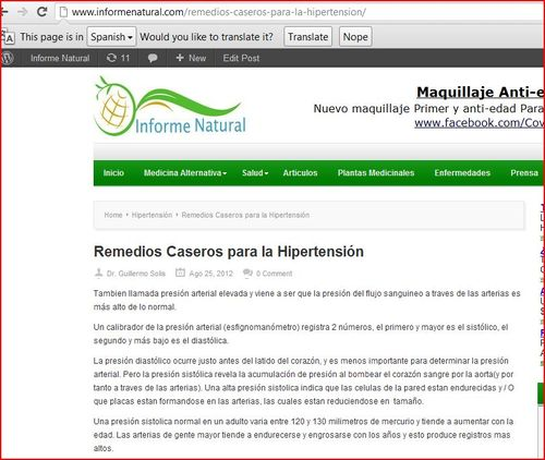 Hypertension Post