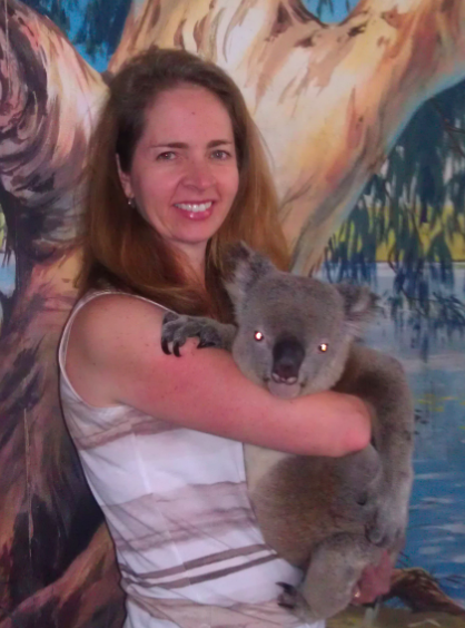 Kara and koala