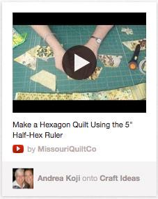 Embedded video on Pinterest