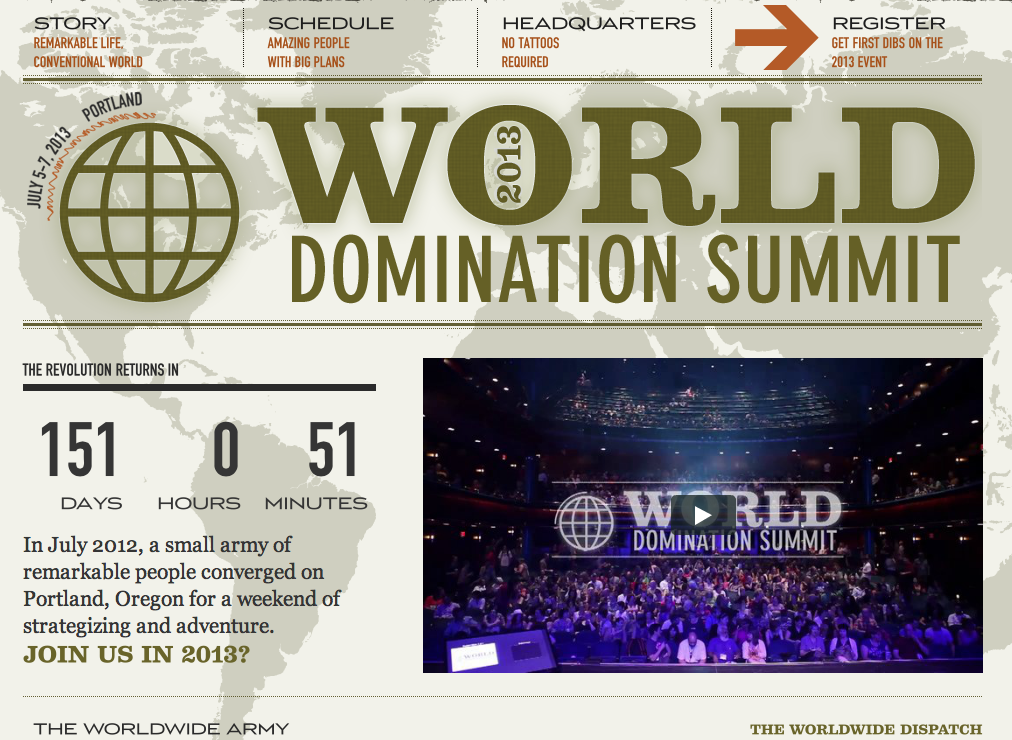 WDS homepage