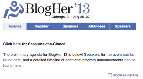 BlogHer more info