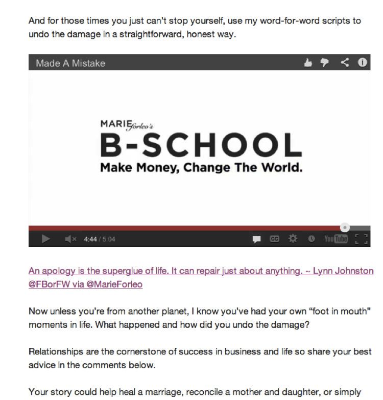 Email for B-School