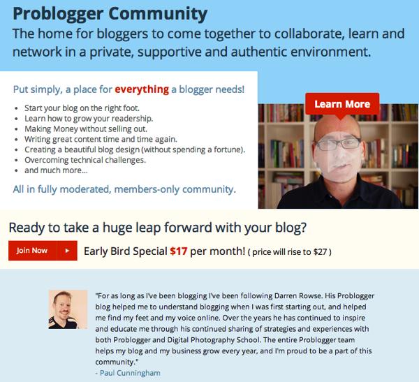 New ProBlogger