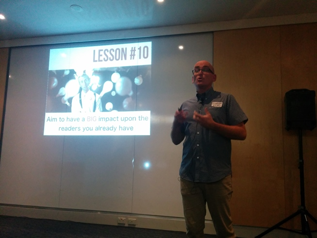 Blogging Lesson