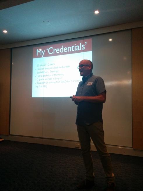 Darren's Credentials