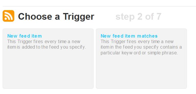 IFTTT Step 2