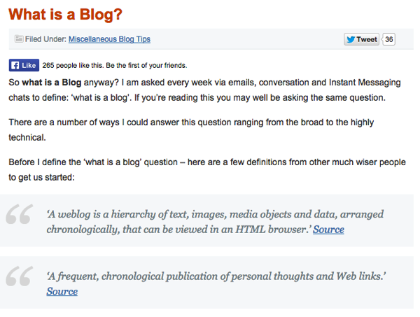 beginner-blogging-question Blog Post Idea: Answer a Beginner Question