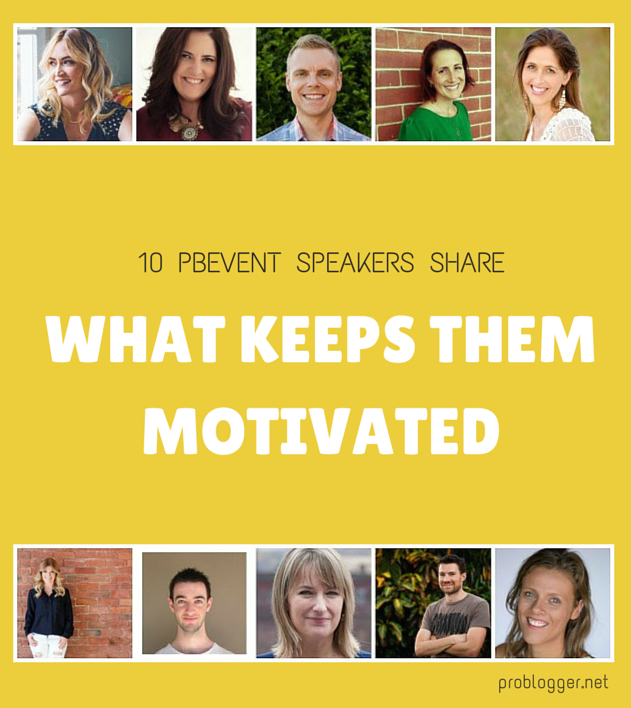 MORNING-ROUTINE-1 10 PBEVENT Speakers Tell How They Stay Motivated