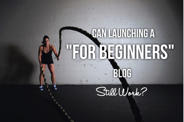 "Can Launching a ""For Beginners"" Blog Still Work?"