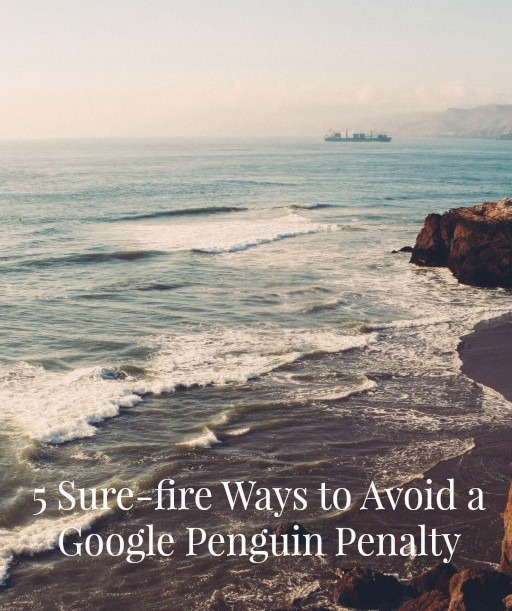 Worried about incurring a Google Penguin Penalty on the SEO of your blog? We've got 5 surefire ways of doing just that! On ProBlogger.net