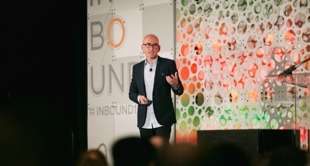 """Darren Rowse speaks at HubSpot's Inbound conference on the topic of """"lucky"""" entrepreneurs and their 7 habits."""