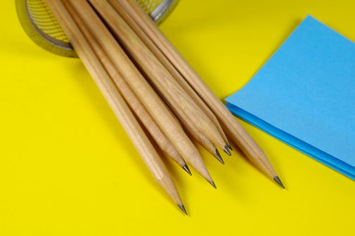 Pencils and Postits