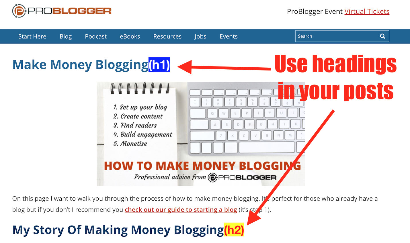 How To Structure Your Blog Content For Great Rankings | ProBlogger.net