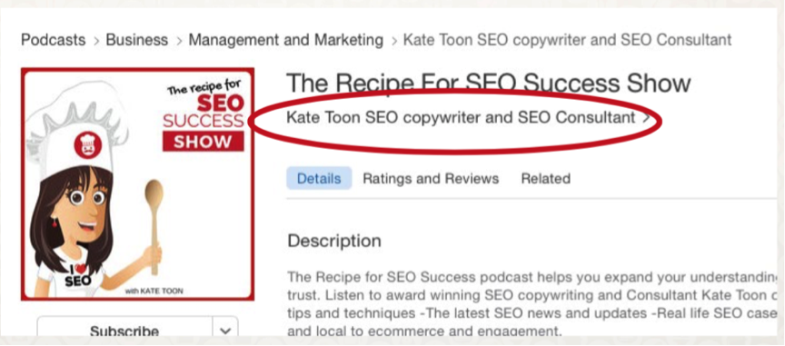 Podcast SEO: How to improve your iTunes ranking | ProBlogger.net