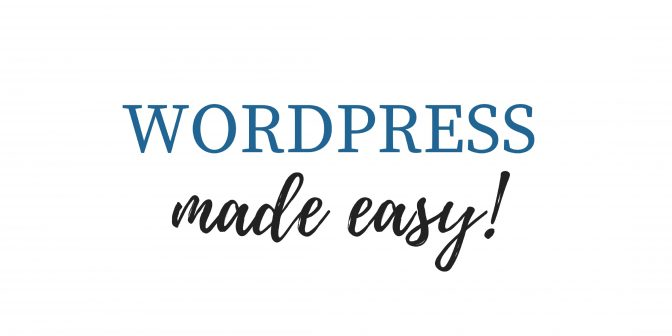 wordpress made easy