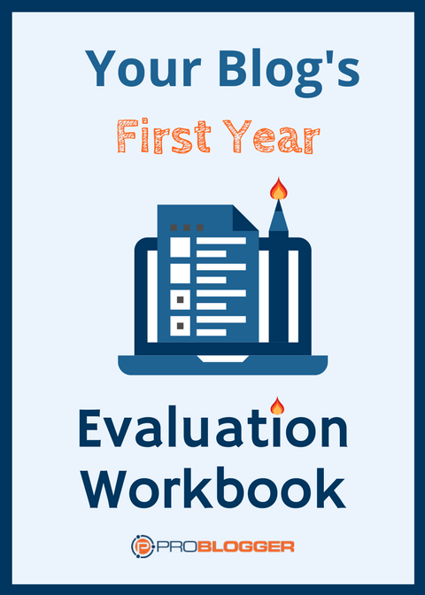 Your Blog's First Year Evaluation Workbook