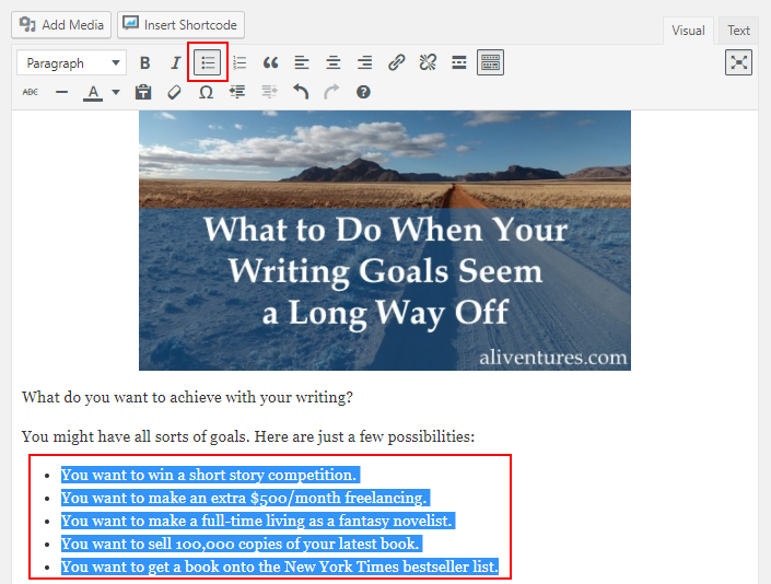 6 WordPress Formatting Tips to Make Your Posts More Readable 16