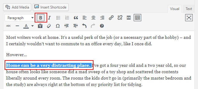 6 WordPress Formatting Tips to Make Your Posts More Readable 12
