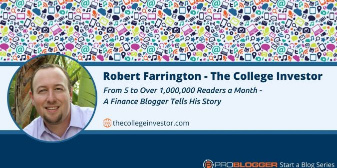How a finance blogger went from five to more than a million readers a month
