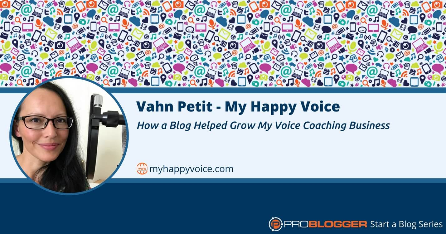 How a blog helped grow a voice coaching business