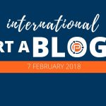 International Start a Blog Day Class of 2018