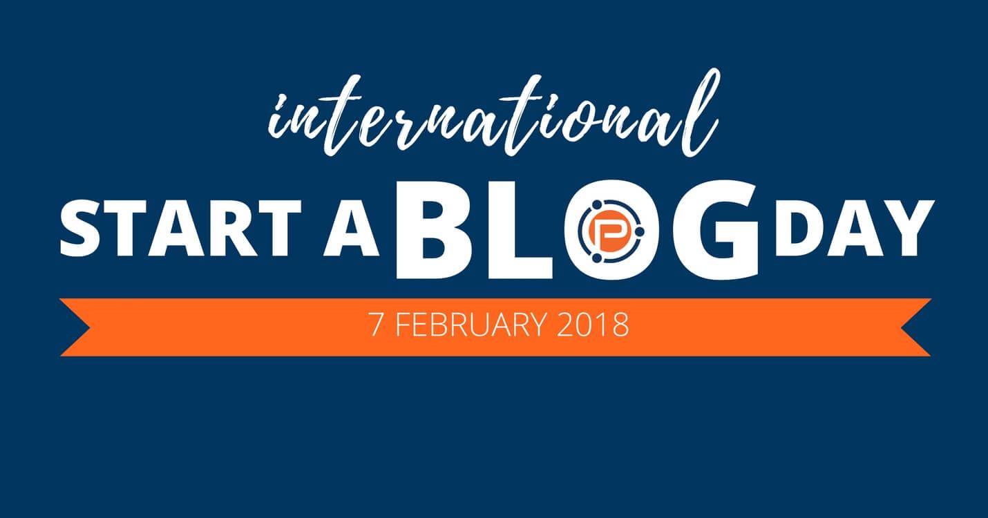 International Start a Blog Day 2018